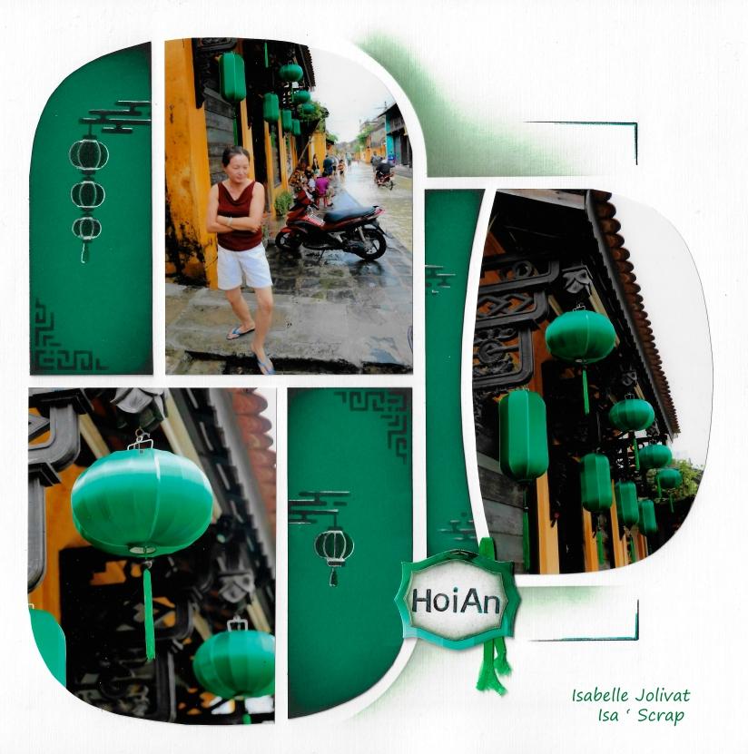 Gabarit Kyoto - Des lanternes à Hoi An - Vietnam